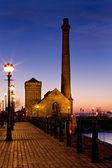 Albert Dock - Liverpool - England — Stock Photo