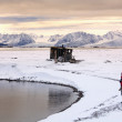 Raudfjord - Svalbard Islands (Spitsbergen) - Stock Photo