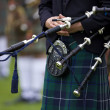 Stock Photo: Piper at Cowal Gathering - Scotland