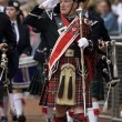 Stock Photo: Piper Major at Cowal Gathering - Scotland