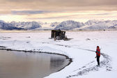 Raudfjord - Svalbard Islands (Spitsbergen) — Stock Photo