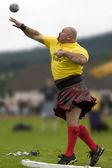 Sportsman - Cowal Gathering Highland Games - Scotland — Stock Photo