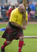 Sportsman - Cowal Gathering Highland Games - Scotland — Stock Photo
