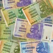 Stock Photo: Banknotes of Zimbabwe