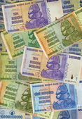 Banknotes of Zimbabwe — Stock Photo