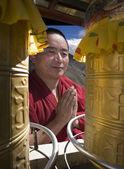 チベット - ガンデン寺 — ストック写真
