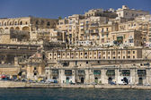 Malta valletta - port — Zdjęcie stockowe