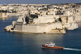 Fort St Angelo - Grand Harbour - Valletta - Malta — Stock Photo