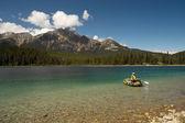 Patricia Lake - Jasper Nationalpark - Kanada — Stockfoto