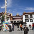 Jokhang Temple - Lhasa - Tibet — Stock Photo #17223105