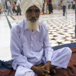Sikh Pilgrim - Amritsar - India — Stock Photo #17234925