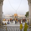 Golden Temple of Amritsar - India — Stock Photo #17236659