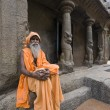 Royalty-Free Stock Photo: Hindu Holy Man - Mahabalipuram - India