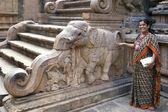 坦贾武尔-泰米尔纳德邦-印度 — 图库照片