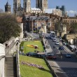 York Minster & RomWalls - England — Stock Photo #17271911