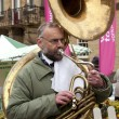 Постер, плакат: Street Musician Yorkshire United Kingdom