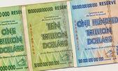 Banknotes of Zimbabwe - One Hundred Trillion Dollars — Stock Photo