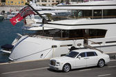 Rich Persons Toys - Marseille - South of France — Stock Photo