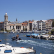 Sete - French Riviera - South of France — Stock Photo
