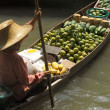 Floating Market - Bangkok - Thailand — Stock Photo