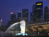 Merlion - Singapore — Stock Photo