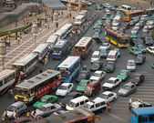 Traffic - Xian - China — Stock Photo