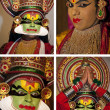 Kathakali Dancer - India - Stock Photo