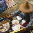 Stock Photo: Floating Market - Thailand