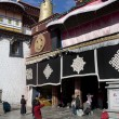 Jokhang temple - Lhassa - tibet — Photo