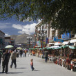 The Barkhor - Lhasa - Tibet — Stock Photo