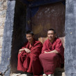 Stock Photo: TibetMonks - Tibet