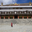 Drepung  Monastery - Lhasa - Tibet - Stock Photo