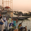 River Ganges - Varanasi - India — Stock Photo #17359951
