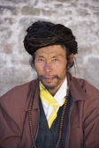 Tibetan Man - Samye Monastery - Tibet — Stock Photo