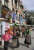 Barkhor - лхаса - тибет — Стоковое фото