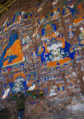 Blue Buddha - Lhasa - Tibet — Stock Photo