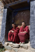 Tibetan Monks - Tibet — Stock Photo