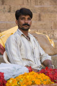 Indian Man - Varanasi - India — Stock Photo