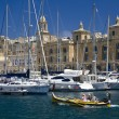 Vittoriosa in Valletta - Malta — Stock Photo