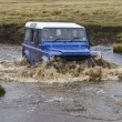 Stock Photo: Driving in Falkland Islands