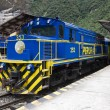 Machu Picchu railway station - Peru - Stock Photo