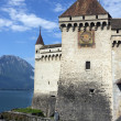Ctateau de Chillon - Lake Geneva - Switzerland — Stock Photo