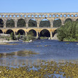 Pont du Gard - South of France — Stock Photo #17367805