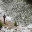 Stock Photo: Fishing - Angling