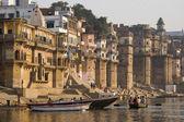 Rivier de ganges - varanasi - india — Stockfoto
