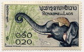 Postage stamp - South East Asia - Laos — Stock Photo