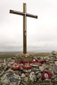 Memorial to HMS Coventry - Falkland Islands — Stock Photo
