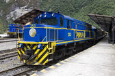 Machu Picchu railway station - Peru — Stock Photo