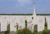 British War Cemetery - The Somme - France — Stock Photo