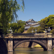 Nijūbashi Bridge - Imperial Palace - Tokyo - Japan — Stock Photo